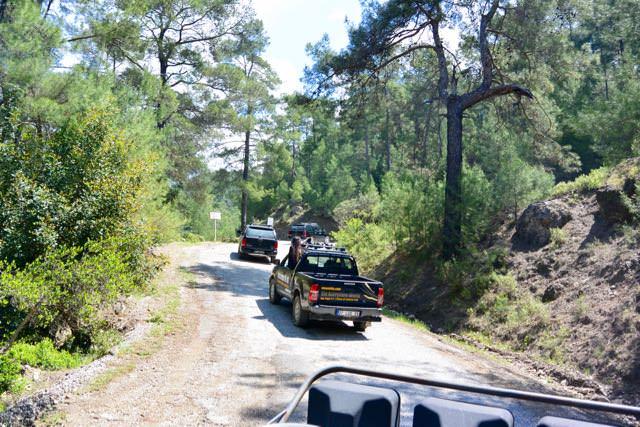 Jeep Sfari Antalya canionul Koprulu.7