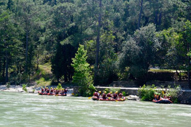 Rafting Koprulu Antalya