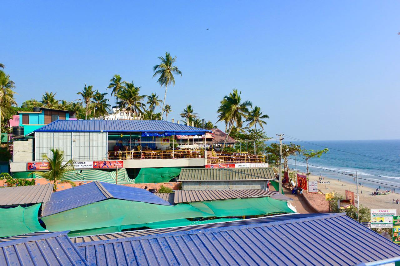 Plaja Varkala Kerala India7