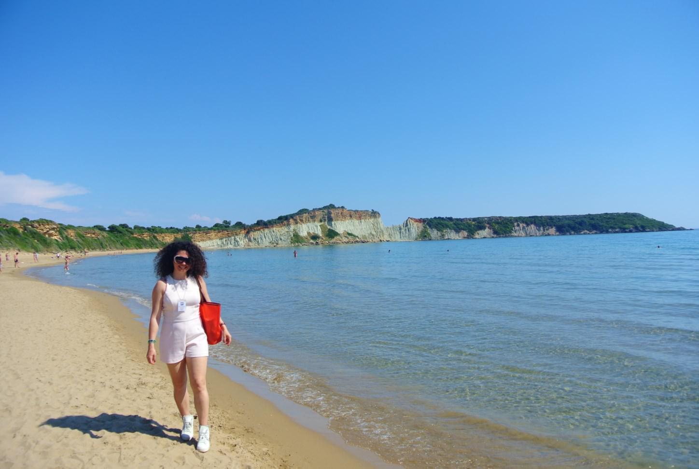 plaje din insula Zakynthos gerakas