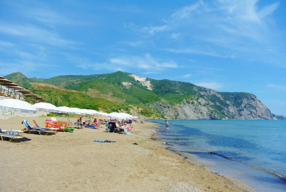 plaje din insula Zakynthos plaja kalamaki