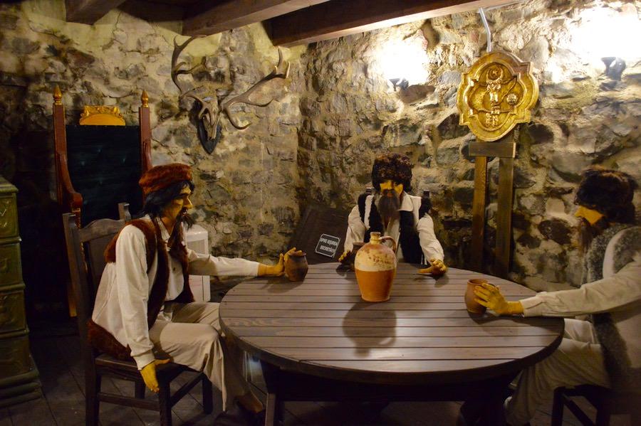 Camera de taină, unde erau invitați numai intimii, sau conspiratorii