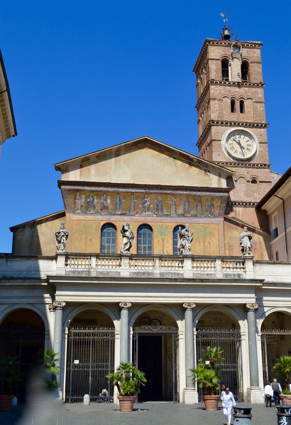Biserica Santa Maria in Trastevere TOP oniective