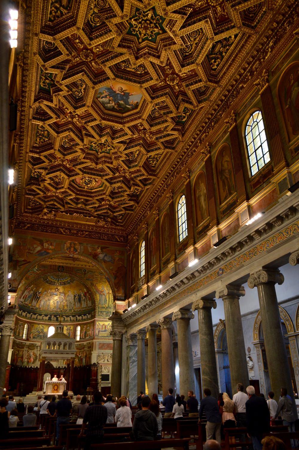 Biserica Santa Maria in Trastevere