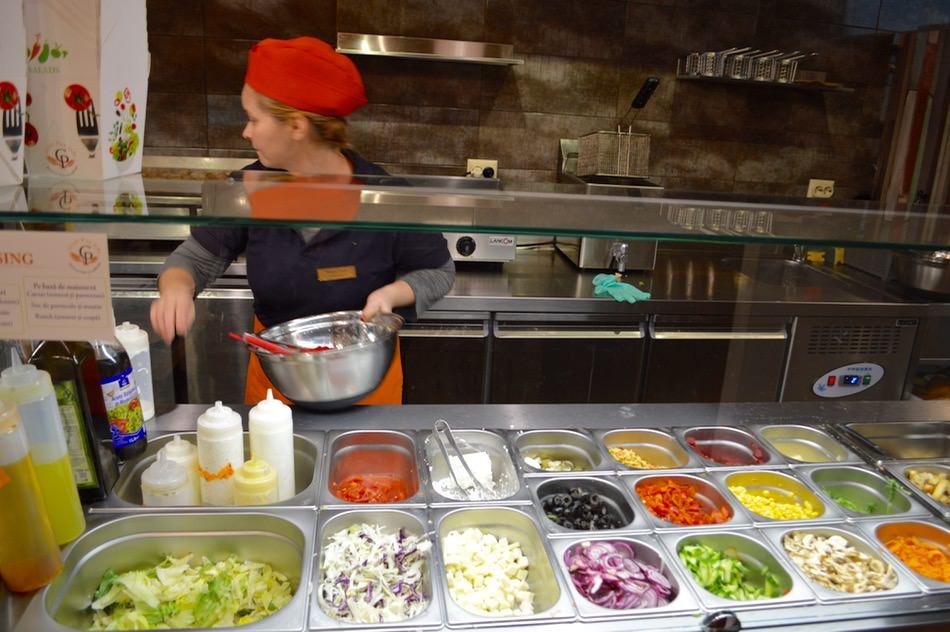 Gran Pan D'or Targu Mures salata