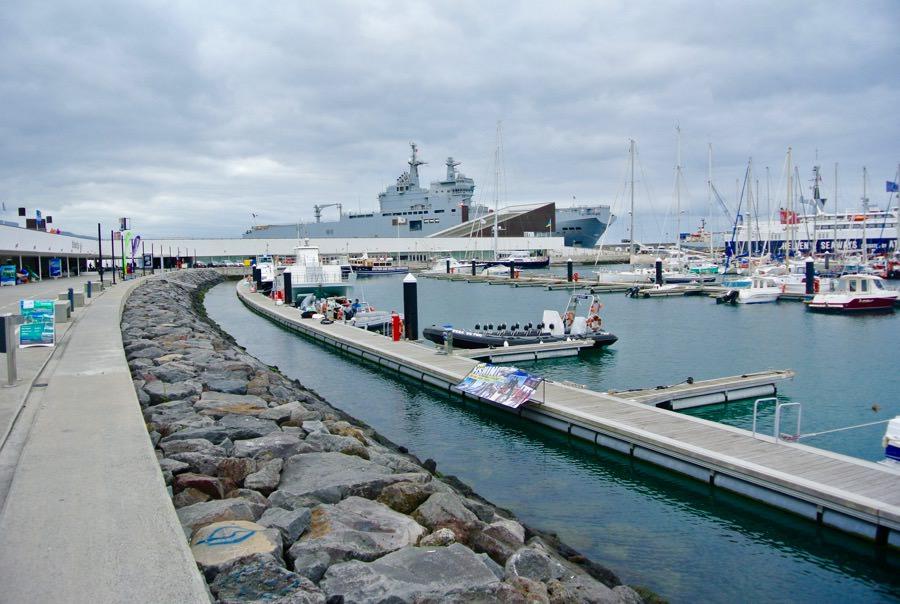 Marina Ponte Delgada insula Azore