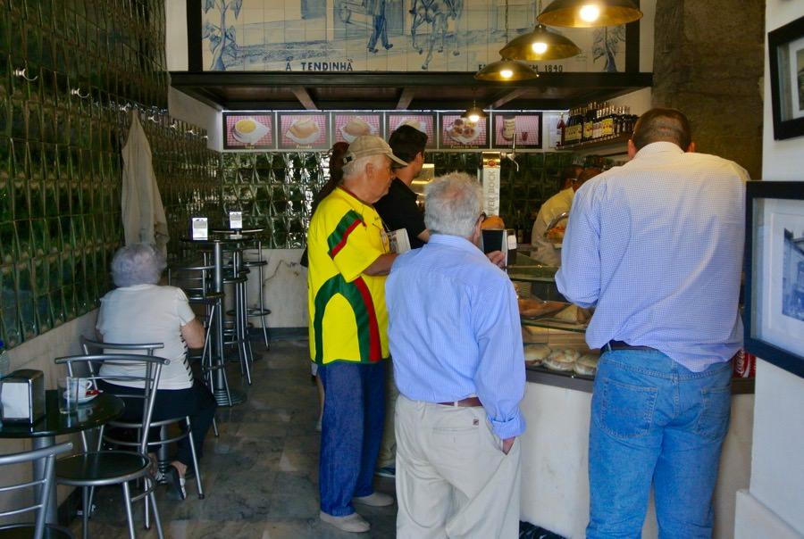 Local Lisabona centru cafea pasteis