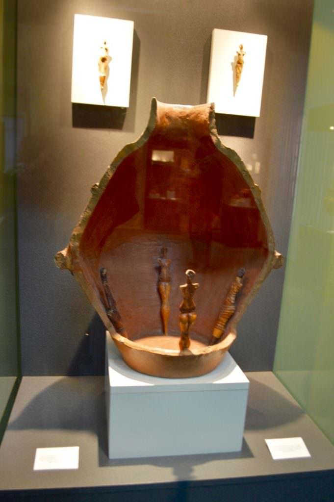 Muzeul de Artă Eneolitică Cucuteni etaj 11