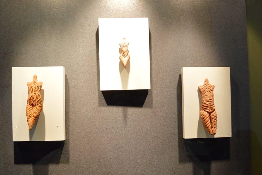 Muzeul de Artă Eneolitică Cucuteni exponate etaj