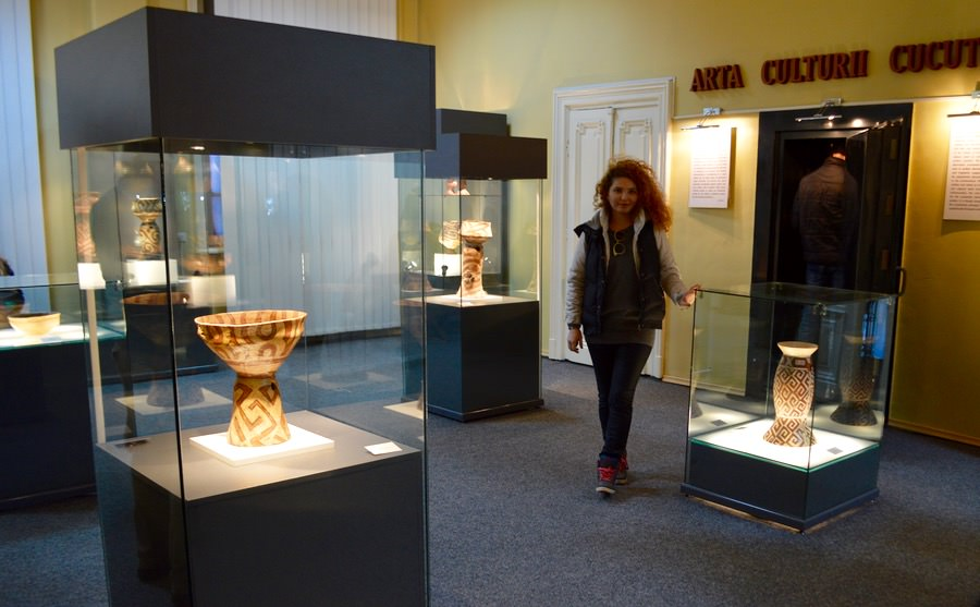 Muzeul de Artă Eneolitică Cucuteni parter 1