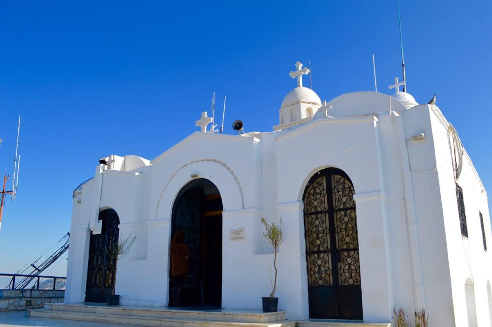 Atena sus biserica Lycabettus
