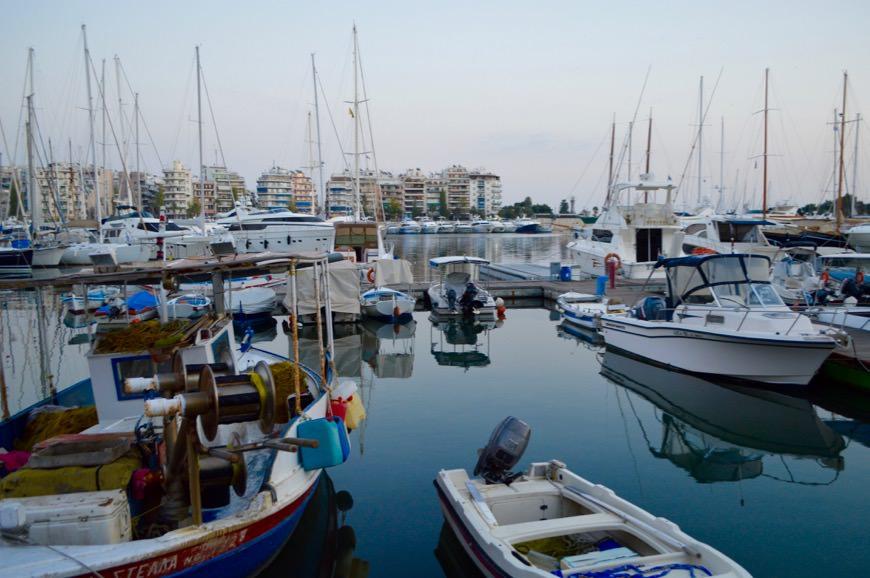 Portul Pireu Attica si 1 porturile sale: Marina Zea