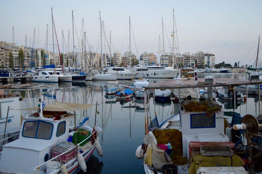 Portul Pireu Attica si porturile sale: Marina Zea 5