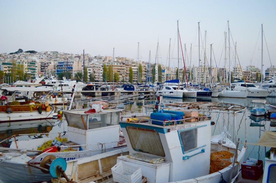 Portul Pireu Attica si porturile sale: Marina Zea