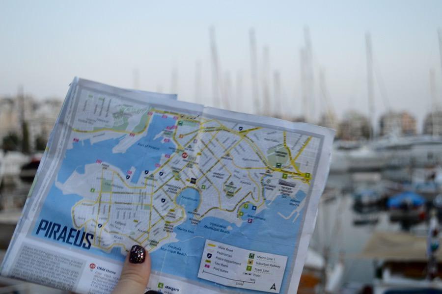 Portul Pireu Marina Zea Attica Grecia