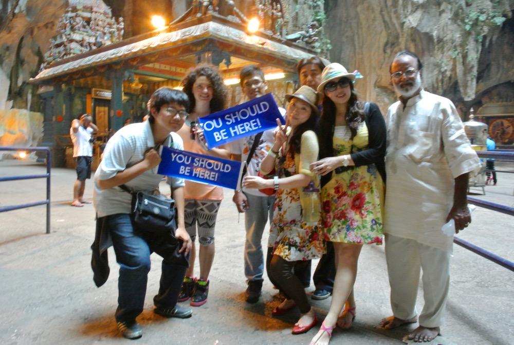 calatorit singura in Malaysia Kuala Lumpur Batu Caves 1