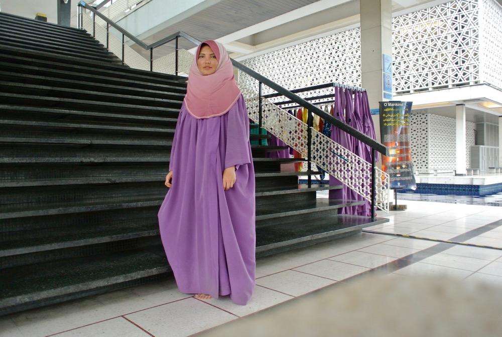 calatorit singura in Malaysia Kuala Lumpur Moschee