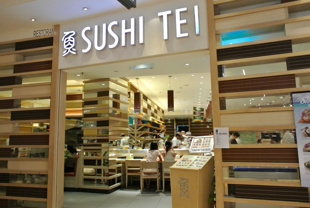 calatorit singura in Malaysia Kuala Lumpur sushi