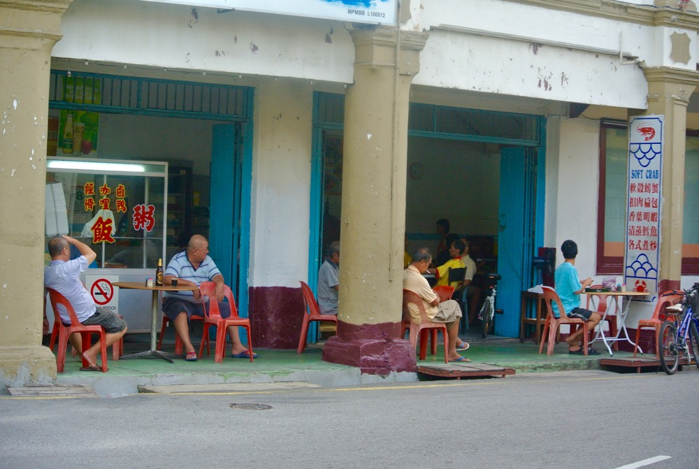 Singura in Malaysia Malacca pe strazi