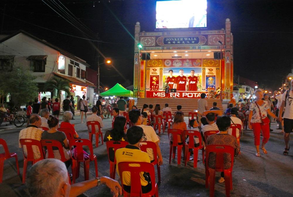 Singura in Malaysia Malacca strazi