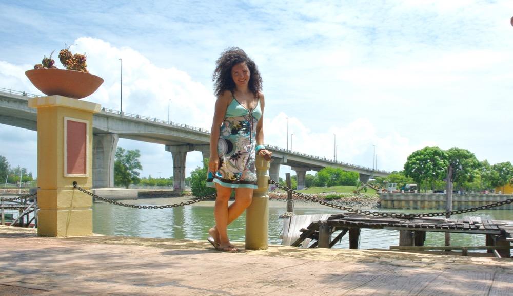 Singura in Malaysia Malacca la plimbare