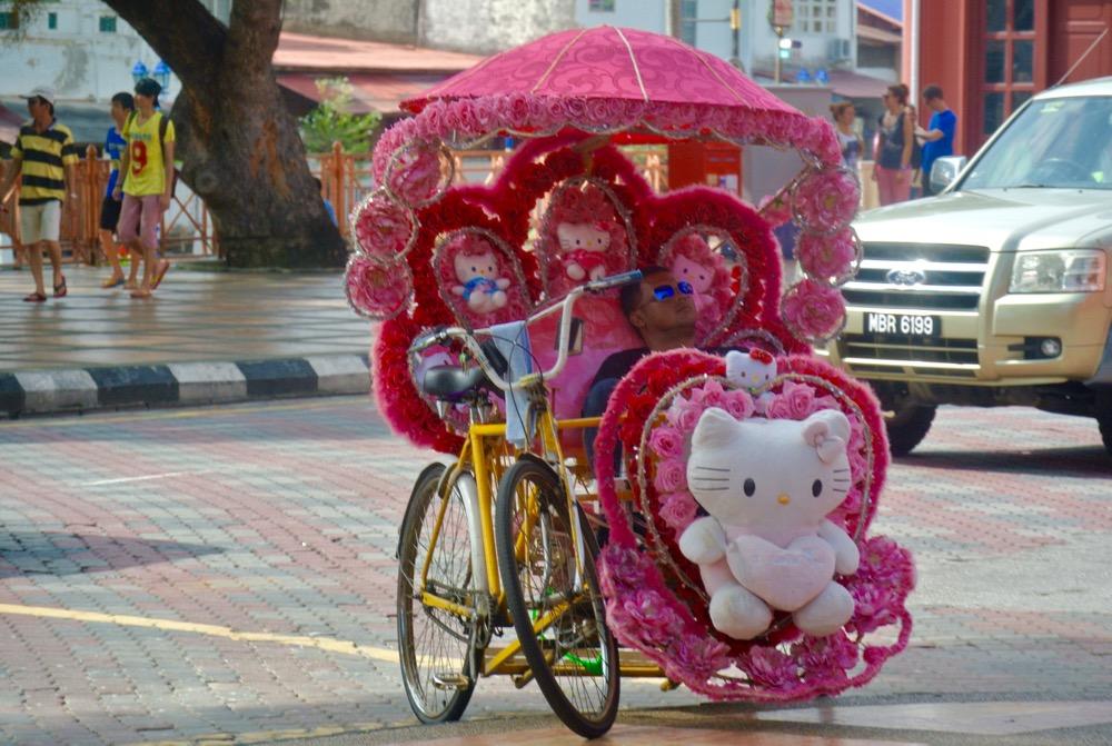 Singura in Malaysia Malacca hello kitty