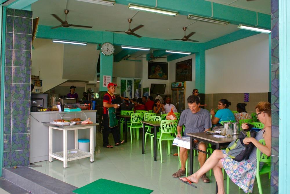 Singura in Malaysia Malacca restaurant