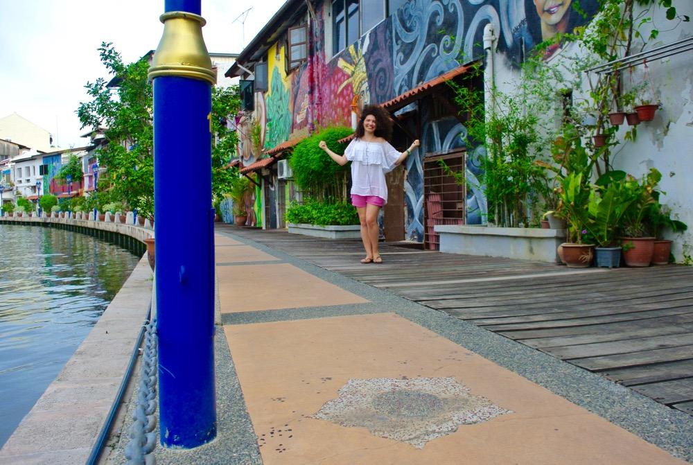 Singura in Malaysia Malacca street art