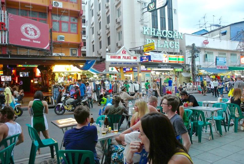 străzi faimoase din Asia de Sud-Est Khaosan Road Bangkok 3