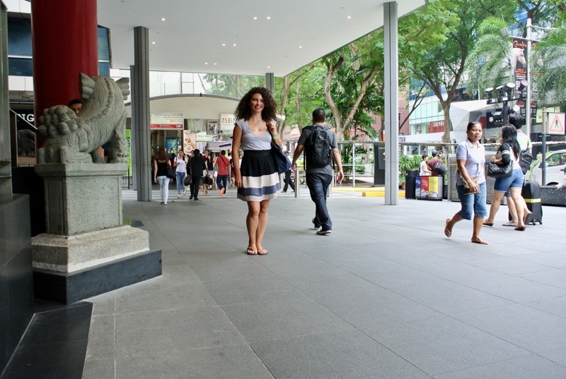 străzi faimoase din Asia de Sud-Est Orchard Singapore cumparaturi 3