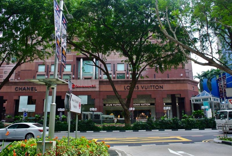 străzi faimoase din Asia de Sud-Est Orchard Singapore cumparaturi 2