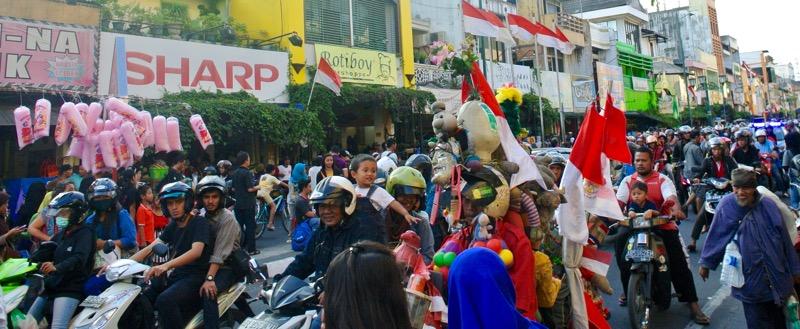străzi faimoase din Asia de Sud-Est Malioboro 1