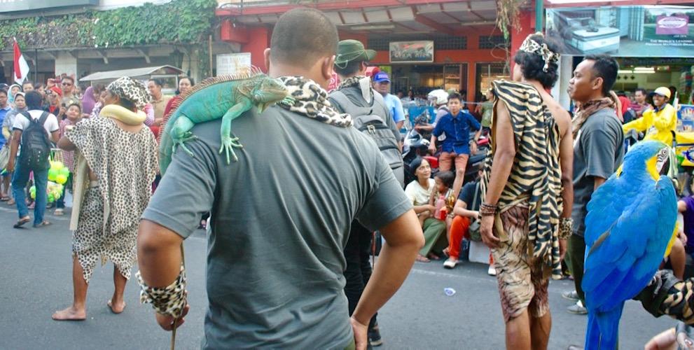 Indonezia strada faimoasa yogya