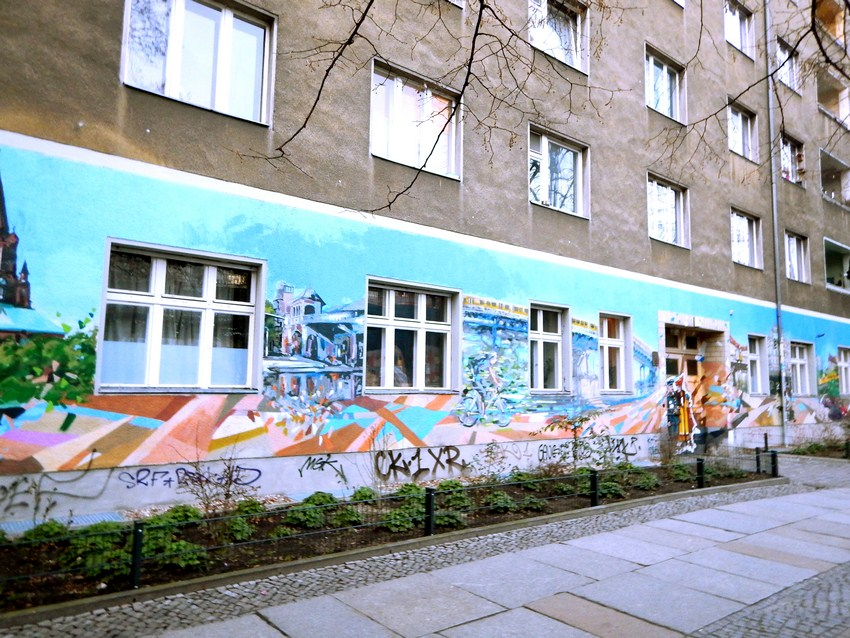 Graffiti in Berlin Kreuzberg 7