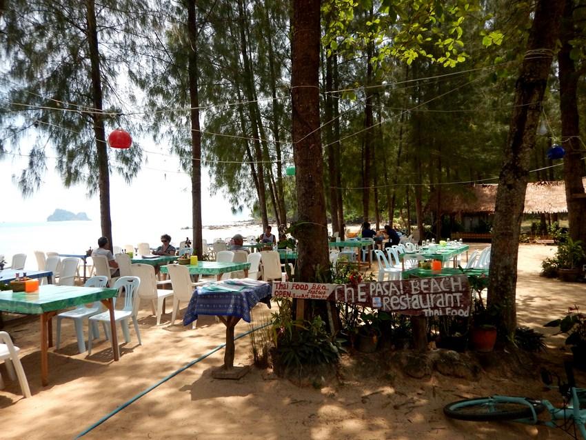 Restaurant plaja Krabi Yao Noi 1