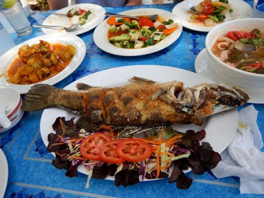 Restaurant plaja Krabi Yao Noi