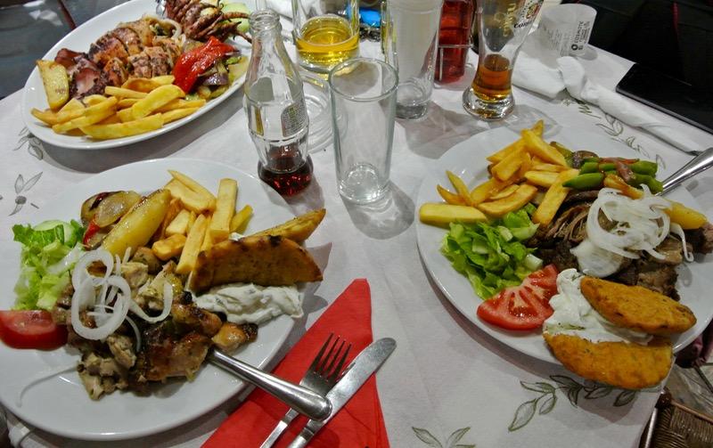 Taverna Spiros Palaiokastritsa Corfu