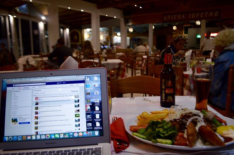 Taverna Corfu Spiros Palaiokastritsa