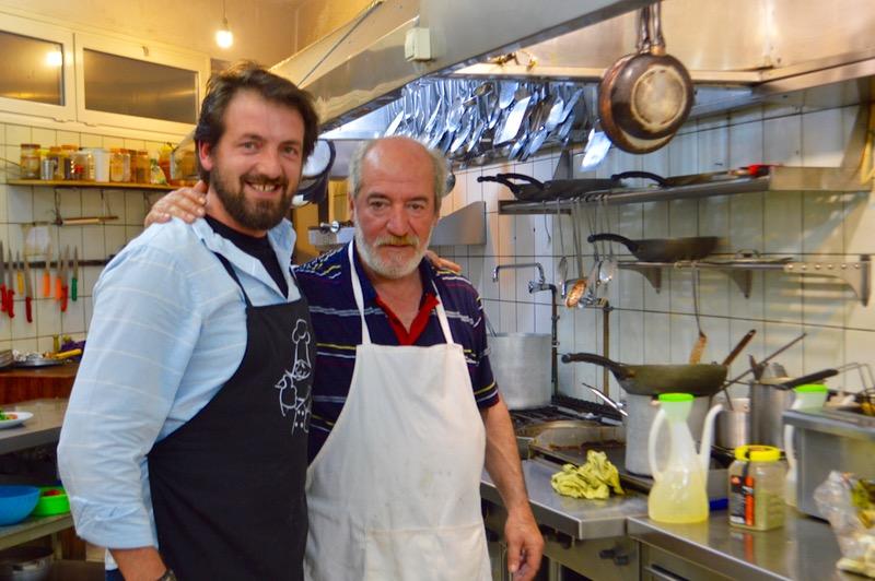 Taverna Corfu Spiros Palaiokastritsa proprietari