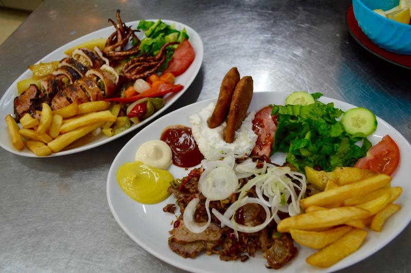 Taverna Corfu Spiros Palaiokastritsa mancare buna
