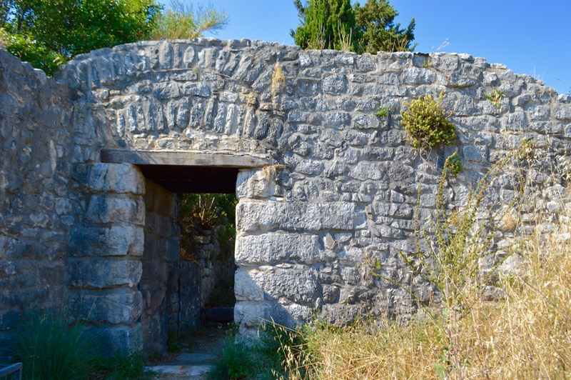 Castelul bizantin Kassiopi Corfu vizitat 13