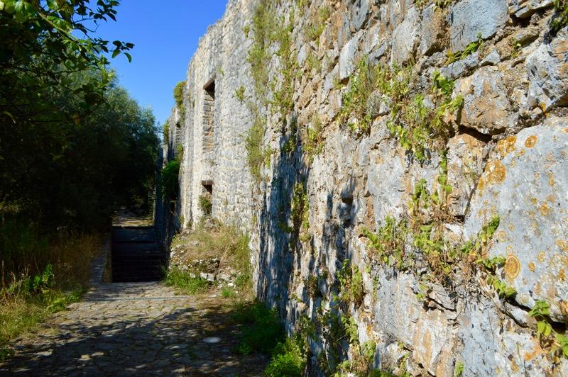 Castelul bizantin Kassiopi Corfu vizitat 10