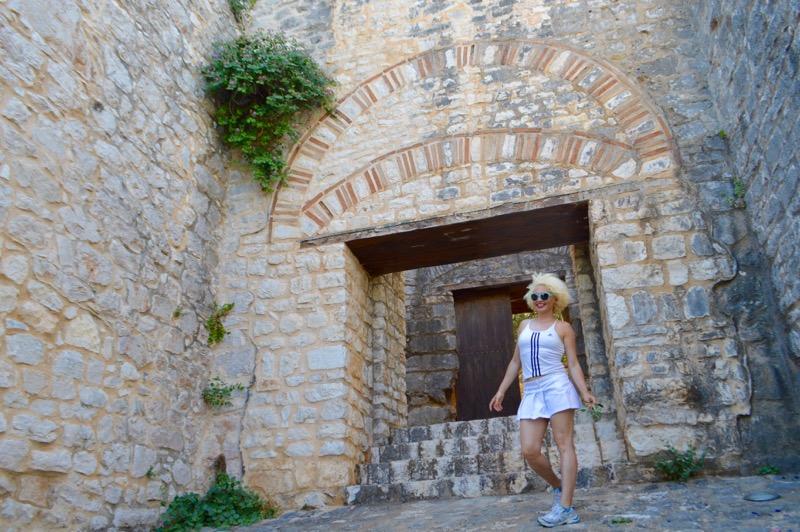 Castelul bizantin Kassiopi Corfu vizitat 8