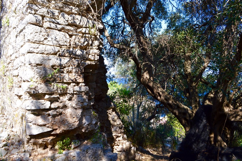 Castelul bizantin Kassiopi Corfu vizitat 2