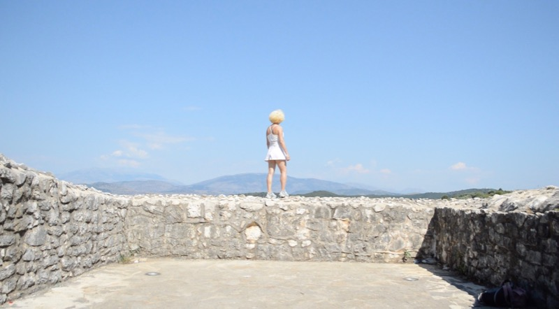 Castelul bizantin Kassiopi Corfu vizitat 23