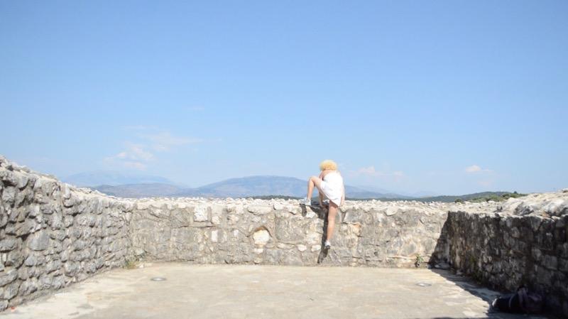 Castelul bizantin Kassiopi Corfu vizitat 21