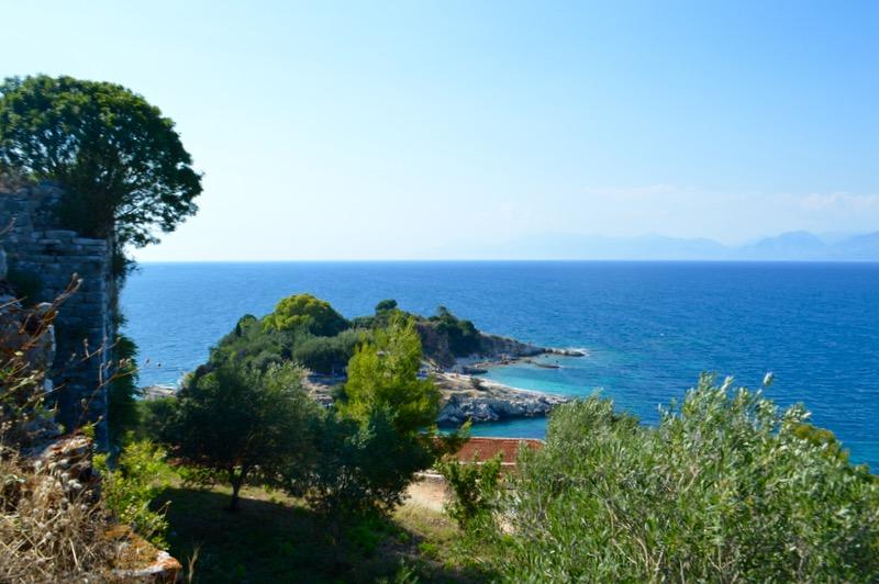 Castelul bizantin Kassiopi Corfu vizitat 20