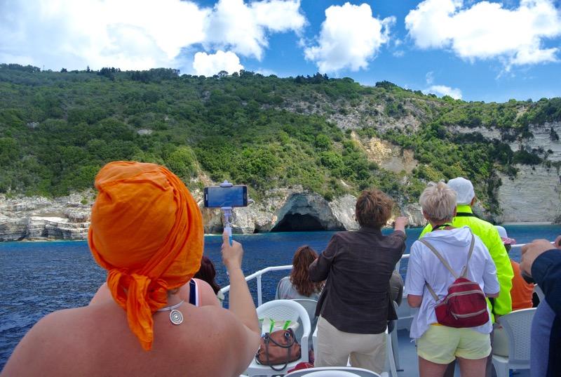 Excursie din Corfu la Grotele Albastre Paxos si Antipaxos 10