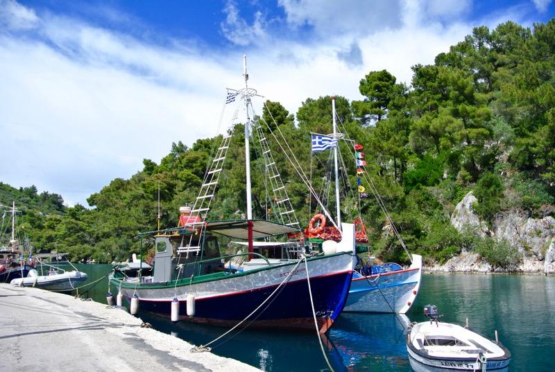 Excursie din Corfu la Grotele Albastre Paxos si Antipaxos 21