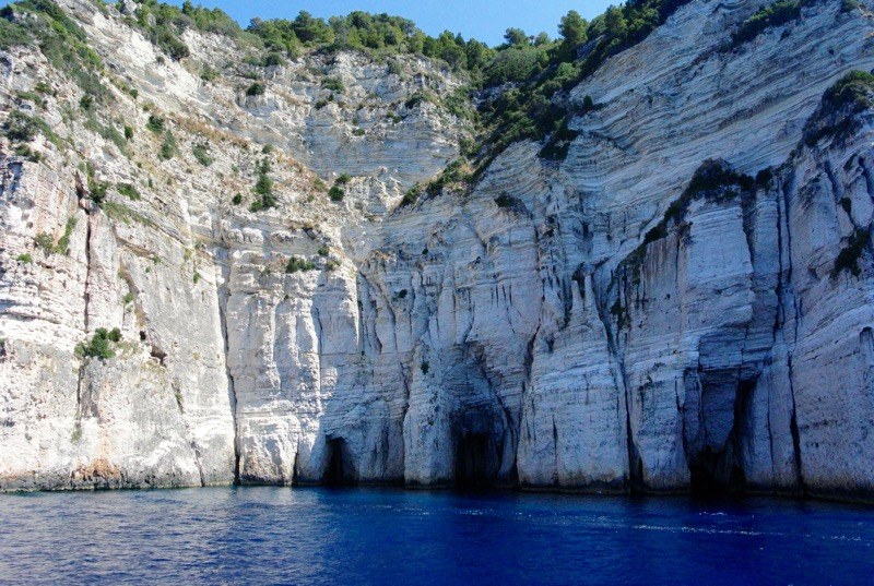 Excursie din Corfu la Grotele Albastre Paxos si Antipaxos 24